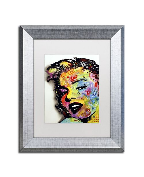 "Trademark Global Dean Russo 'Marilyn Monroe II' Matted Framed Art - 14"" x 11"" x 0.5"""