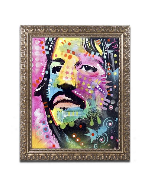 "Trademark Global Dean Russo 'Ringo Starr' Ornate Framed Art - 20"" x 16"" x 0.5"""