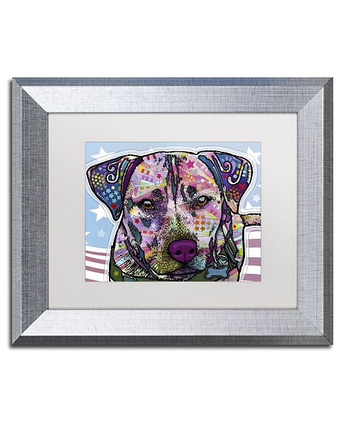 "Trademark Global Dean Russo 'Dakota' Matted Framed Art - 14"" x 11"" x 0.5"""