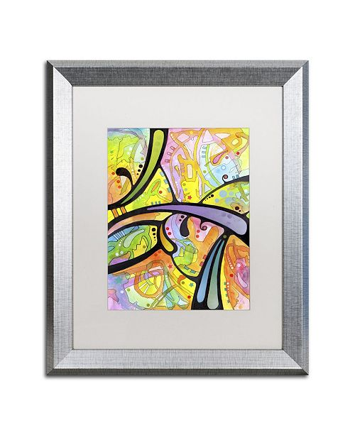 "Trademark Global Dean Russo 'Abstract' Matted Framed Art - 20"" x 16"" x 0.5"""