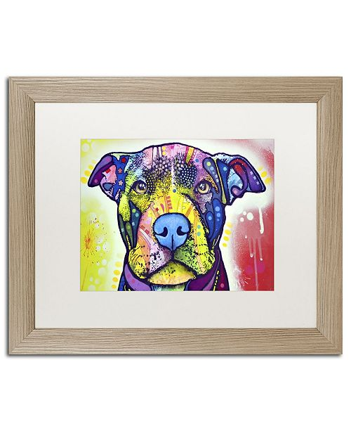 "Trademark Global Dean Russo 'Love A Bull This Years Love 2013 Part 1' Matted Framed Art - 20"" x 16"" x 0.5"""