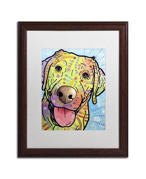 "Trademark Global Dean Russo 'Sunny' Matted Framed Art - 20"" x 16"" x 0.5"""