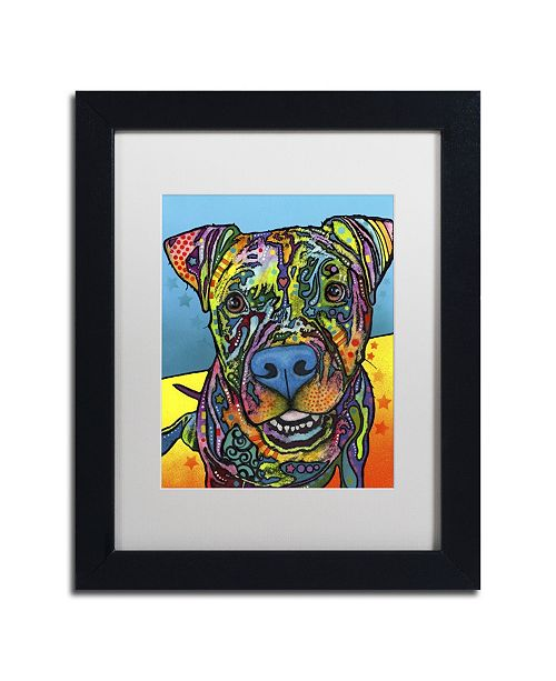 "Trademark Global Dean Russo 'Maccabee' Matted Framed Art - 11"" x 14"" x 0.5"""