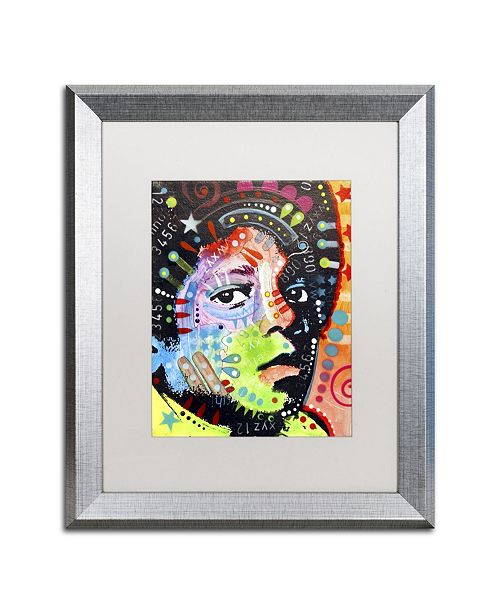 "Trademark Global Dean Russo 'Michael Jackson' Matted Framed Art - 20"" x 16"" x 0.5"""
