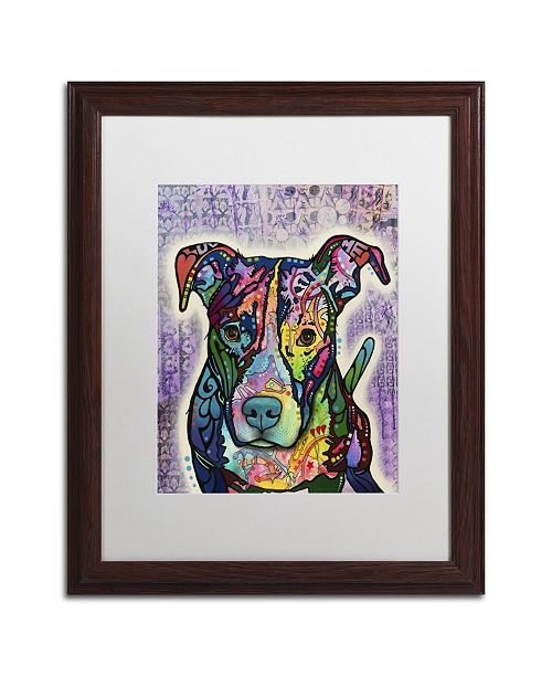 """Trademark Global Dean Russo 'Luv Me' Matted Framed Art - 20"""" x 16"""" x 0.5"""""""