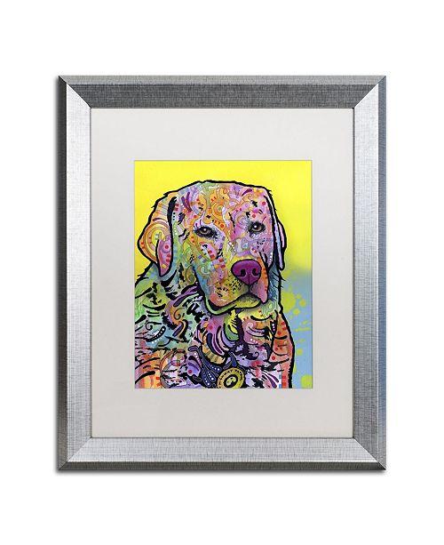 """Trademark Global Dean Russo 'Goose' Matted Framed Art - 20"""" x 16"""" x 0.5"""""""