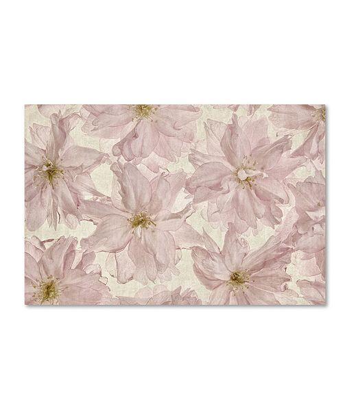 "Trademark Global Cora Niele 'Vintage Blossom' Canvas Art - 19"" x 12"" x 2"""
