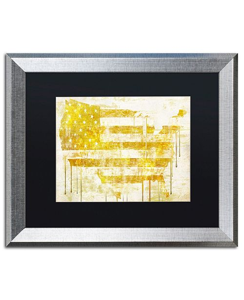 "Trademark Global Color Bakery 'American Dream I' Matted Framed Art - 20"" x 0.5"" x 16"""