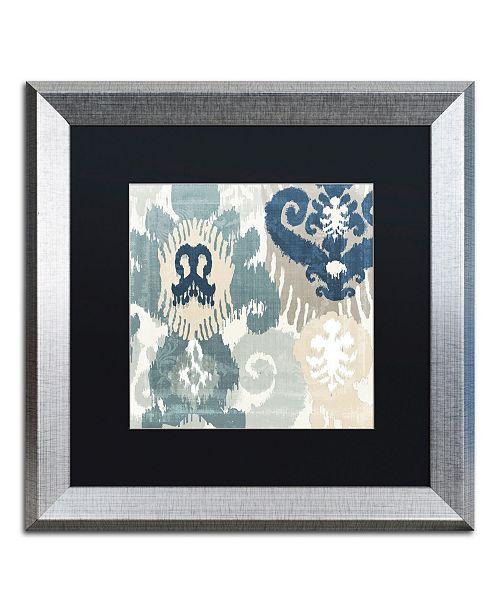 "Trademark Global Color Bakery 'Beach Curry III' Matted Framed Art - 16"" x 0.5"" x 16"""