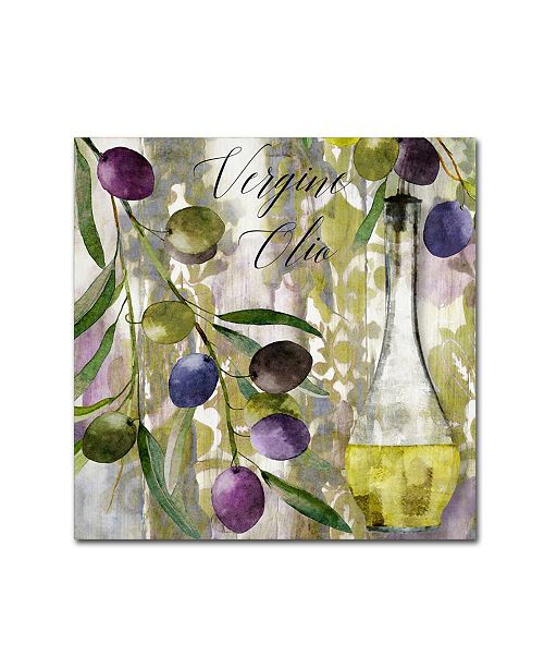 """Trademark Global Color Bakery 'Colors Of Tuscany II' Canvas Art - 14"""" x 2"""" x 14"""""""