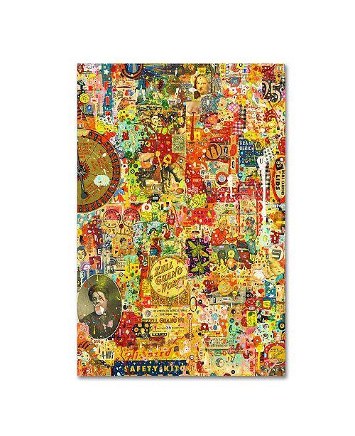 "Trademark Global Colin Johnson 'The New World' Canvas Art - 47"" x 30"" x 2"""