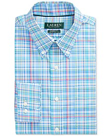 Men's Classic-Fit No-Iron Plaid Dress Shirt