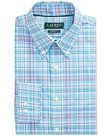 Men's Classic-Fit No-Iron Plaid Dress Shirt