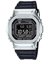 77412a470cc G-Shock Men s Connected Solar Metal Head Black Resin Strap Watch 43.2mm