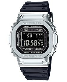 G-Shock Men's Connected Solar Metal Head Black Resin Strap Watch 43.2mm