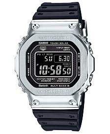 G-Shock Men's Connected Solar Metal Head Black Resin Strap Watch 43.2mm