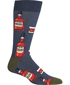 Hot Sox Men's Socks, Whiskey Crew