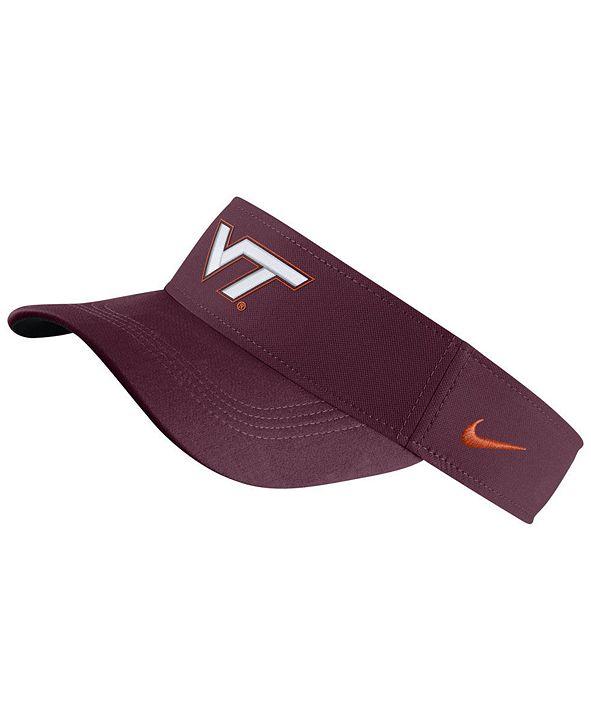 Nike Virginia Tech Hokies Dri-Fit Visor