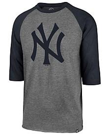 '47 Brand Men's New York Yankees Throwback Club Raglan T-Shirt