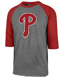 '47 Brand Men's Philadelphia Phillies Throwback Club Raglan T-Shirt
