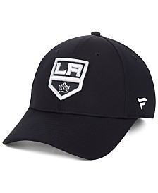 Authentic NHL Headwear Los Angeles Kings Basic Flex Stretch Fitted Cap