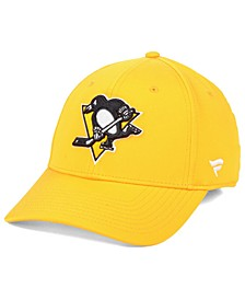 Pittsburgh Penguins Basic Flex Stretch Fitted Cap