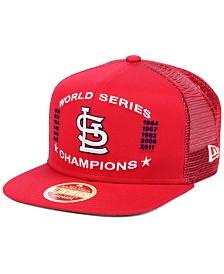 New Era St. Louis Cardinals Team Front Trucker 9FIFTY Snapback Cap