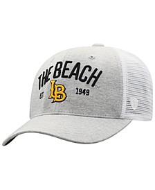 Long Beach State 49ers Notch Heather Trucker Cap