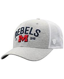 Ole Miss Rebels Notch Heather Trucker Cap