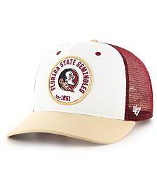 '47 Brand Florida State Seminoles Swell MVP Trucker Snapback Cap