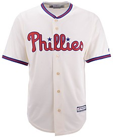 Majestic Men's Philadelphia Phillies Blank Replica Cool Base Jersey