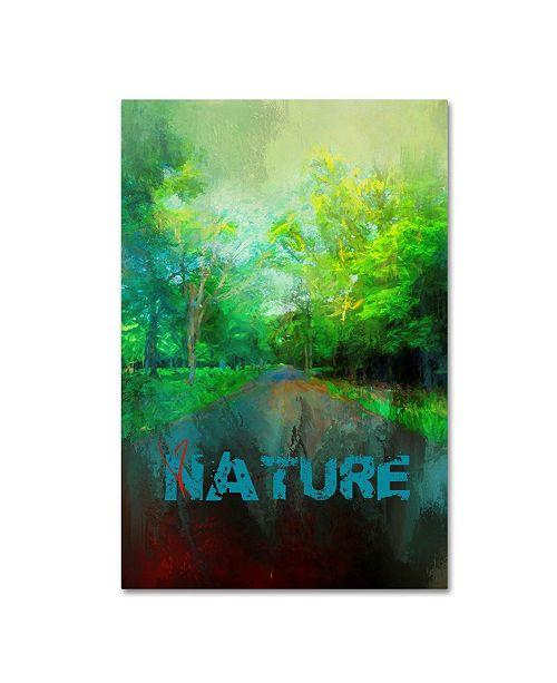 "Trademark Global Jai Johnson 'Nature Love' Canvas Art - 19"" x 12"" x 2"""