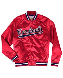 Mitchell & Ness Men's Big & Tall St. Louis Cardinals Lightweight Satin Jacket