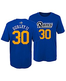 Toddlers Todd Gurley Los Angeles Rams Mainliner Player T-Shirt