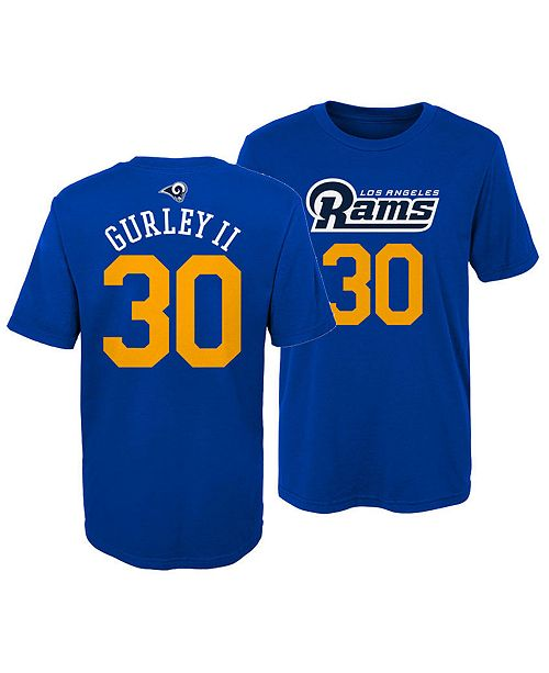 size 40 04dfe 40c59 Toddlers Todd Gurley Los Angeles Rams Mainliner Player T-Shirt