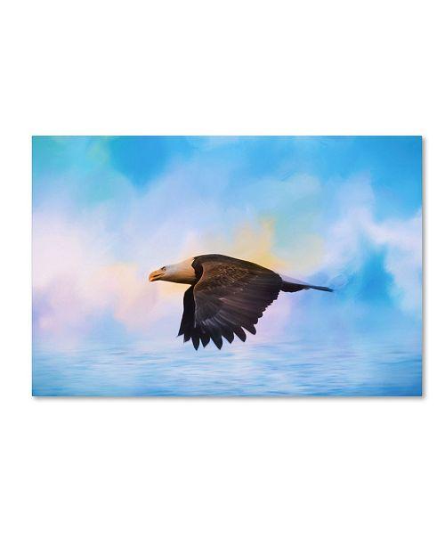 "Trademark Global Jai Johnson 'Sea Coasting' Canvas Art - 24"" x 16"" x 2"""