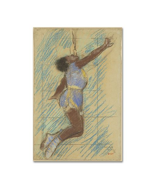 "Trademark Global Degas 'Miss Lala At The Fernando Circus' Canvas Art - 47"" x 30"" x 2"""