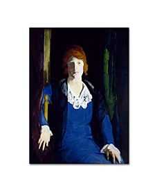 "George Bellows 'Portrait Of Florence Pierce' Canvas Art - 24"" x 18"" x 2"""