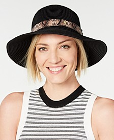 INC Packable Mix-Band Bucket Hat, Created for Macy's