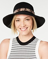 a8314267d12e22 I.N.C. Packable Mix-Band Bucket Hat, Created for Macy's