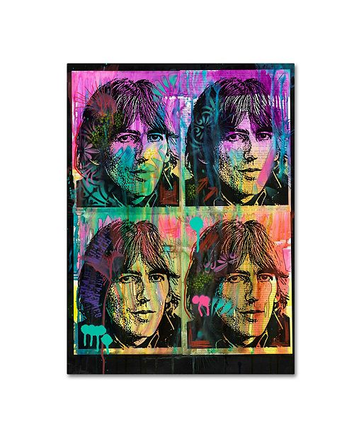 "Trademark Global Dean Russo 'George' Canvas Art - 19"" x 14"" x 2"""