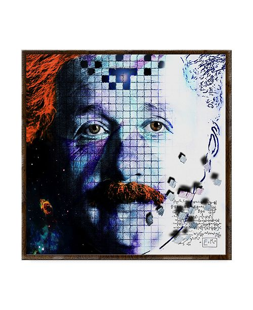 "Trademark Global Dana Brett Munach 'Relativity' Canvas Art - 35"" x 35"" x 2"""