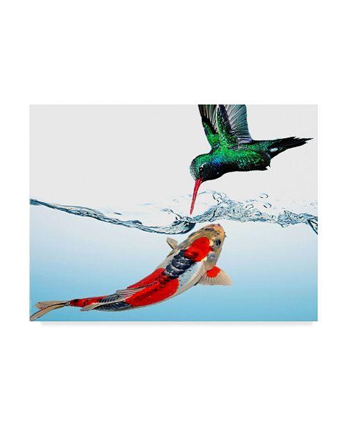 "Trademark Global Dana Brett Munach 'Impossible Love' Canvas Art - 47"" x 35"" x 2"""