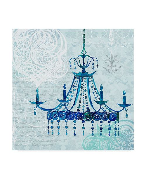 "Trademark Global Irina Trzaskos Studio 'Chandelier II' Canvas Art - 35"" x 35"" x 2"""
