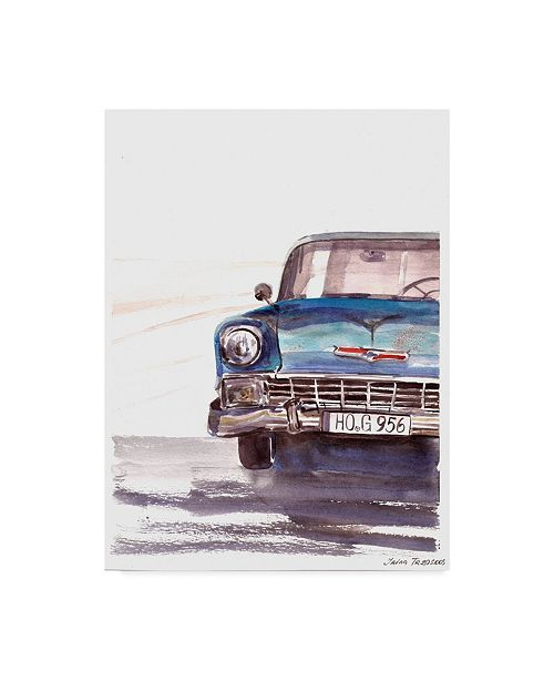 "Trademark Global Irina Trzaskos Studio 'Vintage Car' Canvas Art - 19"" x 14"" x 2"""