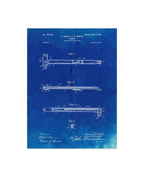 "Trademark Global Cole Borders 'Tool' Canvas Art - 19"" x 14"" x 2"""