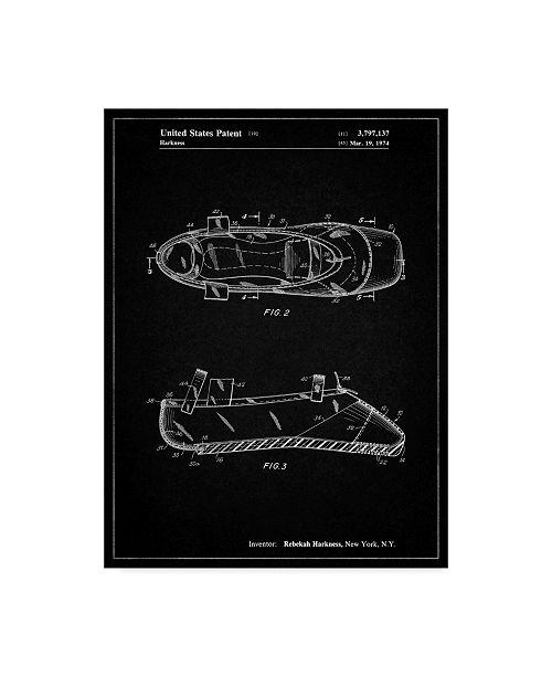 "Trademark Global Cole Borders 'Mechanics 20' Canvas Art - 32"" x 24"" x 2"""