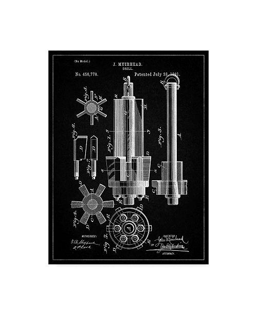 "Trademark Global Cole Borders 'Mechanics 18' Canvas Art - 19"" x 14"" x 2"""
