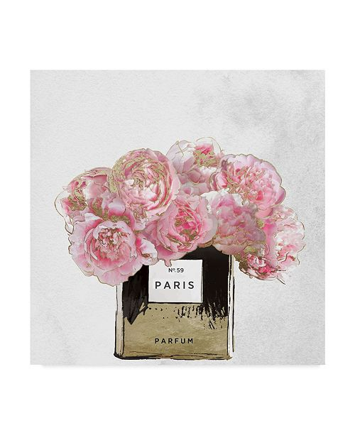 """Trademark Global Color Bakery 'Pink Scented' Canvas Art - 14"""" x 14"""" x 2"""""""