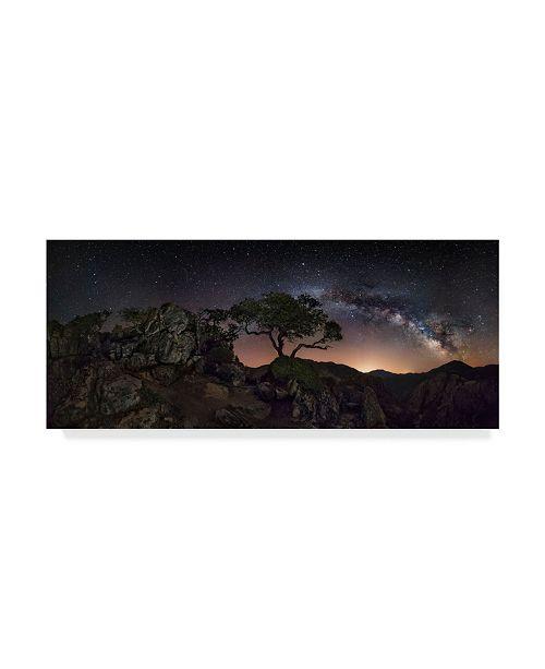 "Trademark Global Ivan Pedretti 'Big Mountains' Canvas Art - 47"" x 2"" x 20"""